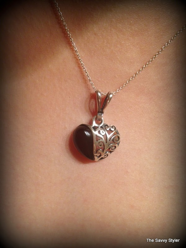 Henryka Heart Necklace