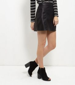 black-leather-look-a-line-skirt-