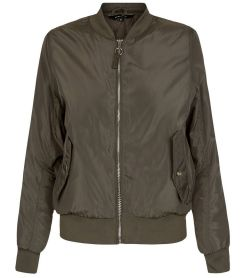 khaki-padded-double-pocket-bomber-jacket-new-look