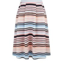 pink-stripe-pleated-midi-skater-skirt-new-look-29.99