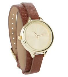 tan-leather-look-wrap-around-watch-