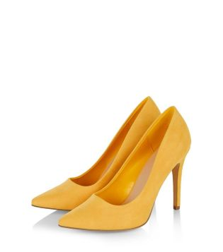 yellow-pointed-court-shoes-new-look